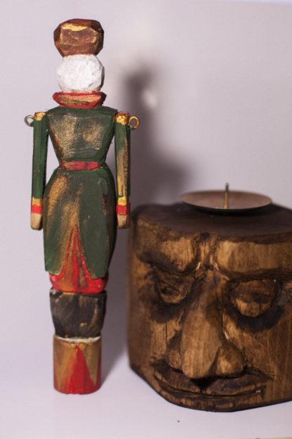 солдатик деревянный