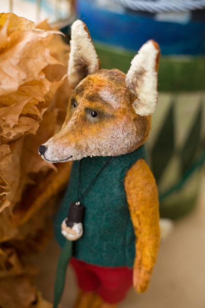 купить игрушку лису